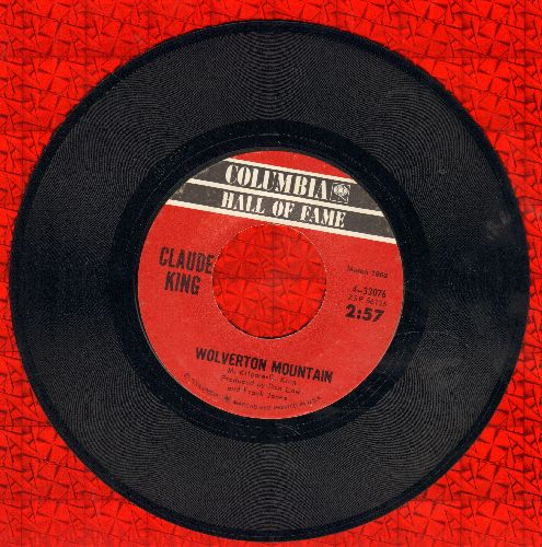 King, Claude - Wolverton Mountain/Sam Hill (double-hit re-issue) - NM9/ - 45 rpm Records