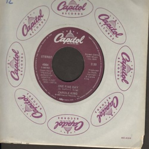 King, Carole - One Fine Day/Rulers Of This World  - VG7/ - 45 rpm Records