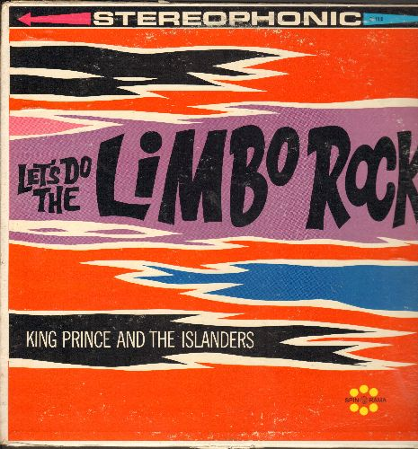 Prince, King & The Islanders - Let's Do The Limbo Rock: Matilda, Brownskin Gal, Mary Walk, Tomorrow Man (Vinyl STEREO LP record) - NM9/VG7 - LP Records