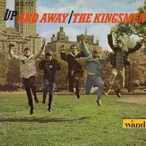 Kingsmen - Up And Away: Wild Thing, Tossin' And Turnin', Hushabye, Shake A Tail Feather, Mustang Sally, Land Of A Thousand Dances (Vinyl STEREO LP record) - NM9/EX8 - LP Records