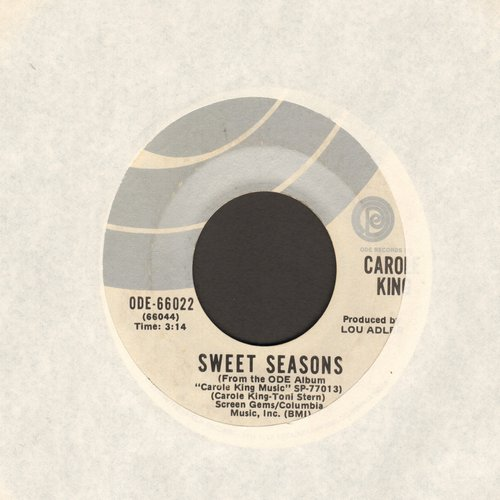 King, Carole - Sweet Seasons/Pocket Money  - NM9/ - 45 rpm Records