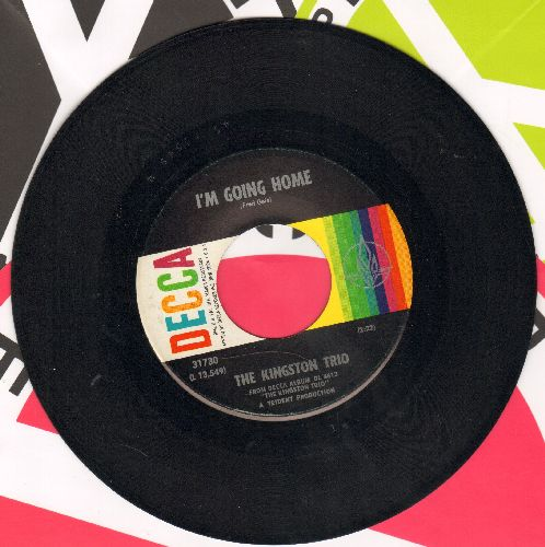 Kingston Trio - I'm Coming Home/Little Play Soldiers - NM9/ - 45 rpm Records
