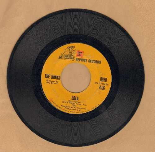 Kinks - Lola/Mindless Child Of Motherhood - VG7/ - 45 rpm Records