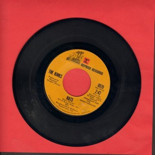 Kinks - Rats/Apeman (3:45 version) - EX8/ - 45 rpm Records