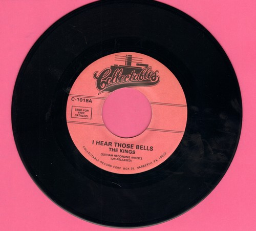 Kings - I Hear Those Bells/The Good Book 9double-hit re-issue) - NM9/ - 45 rpm Records