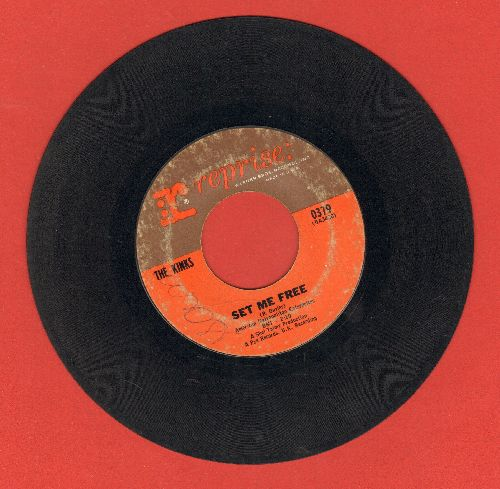 Kinks - Set Me Free/I Need You - VG6/ - 45 rpm Records