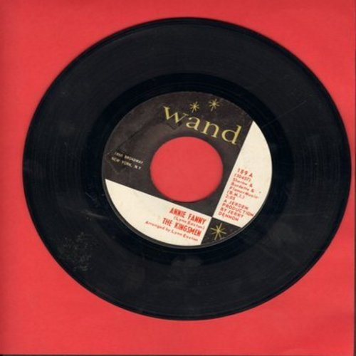 Kingsmen - Annie Fanny/Give Her Lovin'  - VG7/ - 45 rpm Records