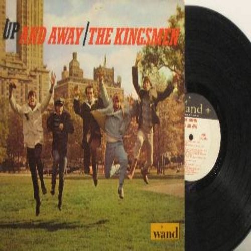 Kingsmen - Up And Away: Wild Thing, Tossin' And Turnin', Hushabye, Shake A Tail Feather, Mustang Sally, Land Of A Thousand Dances (Vinyl MONO LP record, wol) - EX8/EX8 - LP Records