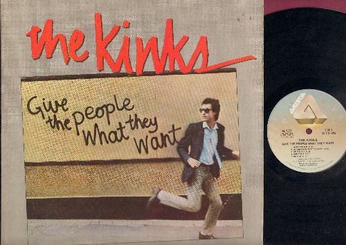 Kinks - Give The People What They Want: Around The Dial, Give The People What They Want, Killer's Eyes, Predictable, Add It Up, Destroyer, Yo-You, Back To Front, Art Love, A Little Bit Of Abuse, Better Things (Vinyl LP Record) - EX8/EX8 - LP Records