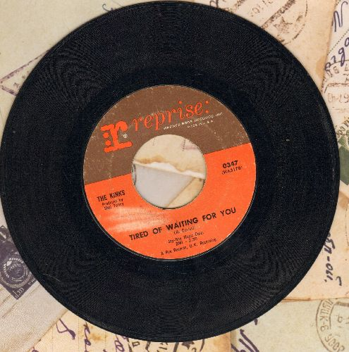 Kinks - Tired Of Waiting For You/Come On Now (sol) - VG7/ - 45 rpm Records
