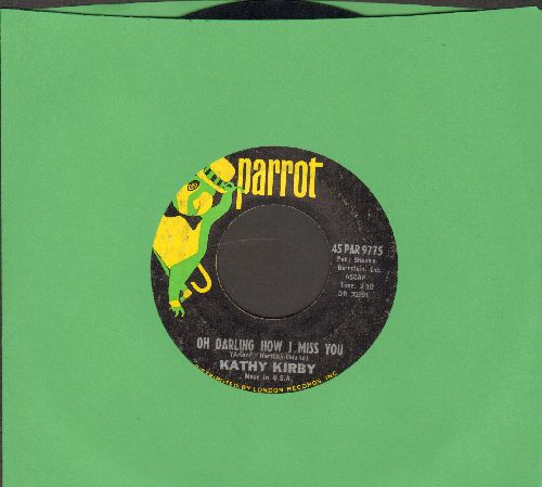 Kirby, Kathy - Oh Darling How I Miss You/The Way Of Love  - VG7/ - 45 rpm Records