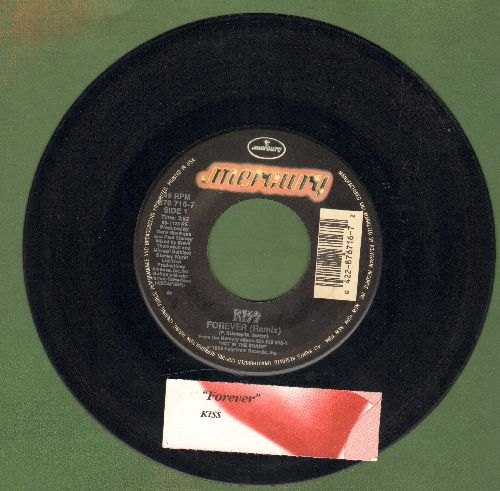 KISS - Forever (Remix)/The Street Giveth And The Street Taketh Away (with juke box label) - EX8/ - 45 rpm Records