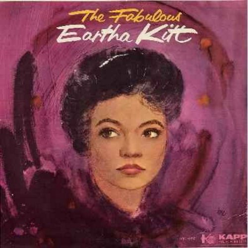 Kitt, Eartha - The Fabulous Eartha Kitt: Mack The Knife, I'd Rather Be Burned As A Witch, Yellow Bird, Shalom, Lamplight, Jambo Hippopotami (Vinyl MONO LP record) - EX8/VG7 - LP Records