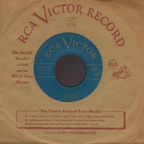 Irvin, Francis with Tommy Dorsey Orchestra - C'est Si Bon/I Oughta Know More About You (green label early 50s issue with vintage RCA company sleeve) - EX8/ - 45 rpm Records