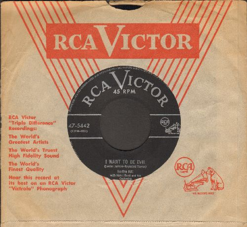 Kitt, Eartha - I Want To Be Evil/Annie Dosen't Live Here Any More (with RCA company sleeve) - EX8/ - 45 rpm Records