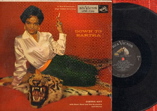 Kitt, Eartha - Down To Eartha: I've Got That Lovin' Bug Itch, Apres Moi, Mambo De Paree, hey Jaques (vinyl MONO LP record) - EX8/VG7 - LP Records