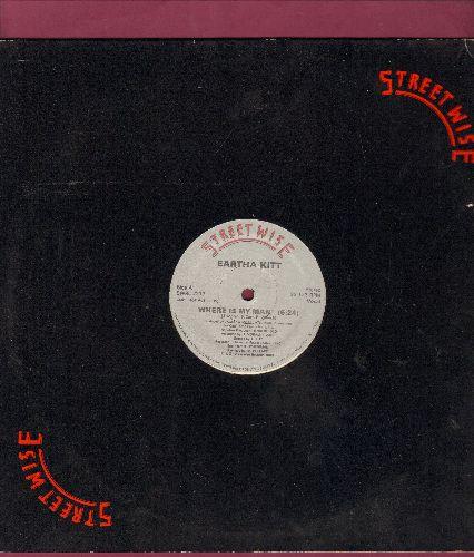 Kitt, Eartha - Where Is My Man (2 extended dance mixes on 12 inch maxi single) - NM9/ - Maxi Singles
