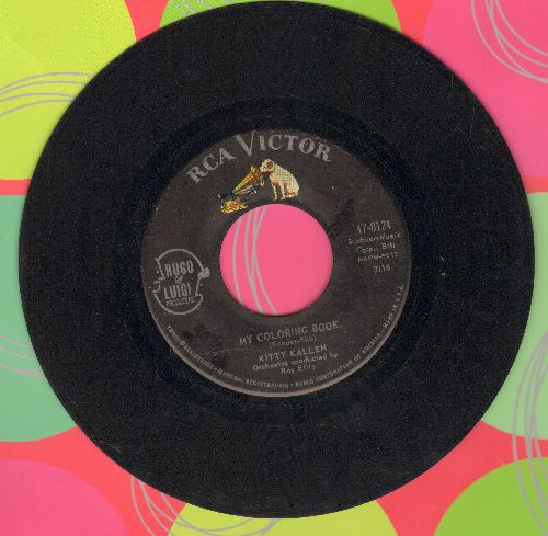 Kallen, Kitty - My Coloring Book/Here's To Us  - VG7/ - 45 rpm Records