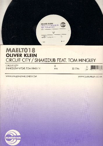 Klein, Oliver - Circuit City/Shakedub Featuring Tom Hingley (12 inch 33rpm vinyl Maxi Single with picture cover, British Pressing) - NM9/EX8 - Maxi Singles