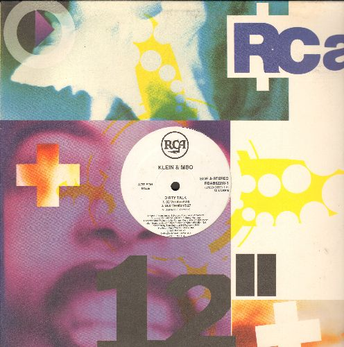 Klein & MBO/B. Beat Girls - Dirty Talk (5:36 minutes 92 Version/5:27 Dub Version)/For The Same Man (6:16 92 Version/6:49 Dub Version) (12 inch vinyl Maxi Single, DJ advance pressing with RCA company cover) - NM9/ - Maxi Singles