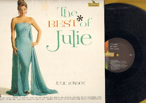 London, Julie - The Best Of Julie: Cry Me A River, Hot Toddy, Daddy, You'd Be So Nice To Come Home To (vinyl MONO LP record) - NM9/VG7 - LP Records
