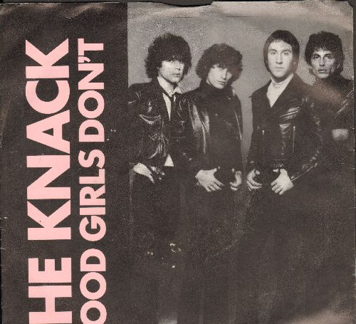Knack - Good Girls Don't/Frustrated (with picture sleeve) - EX8/EX8 - 45 rpm Records