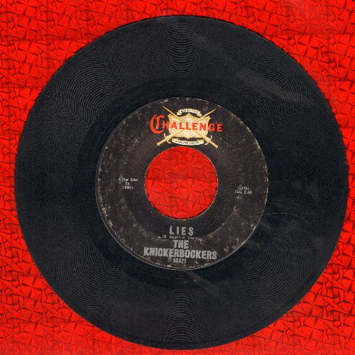 Knickerbockers - Lies/The Coming Generation - VG7/ - 45 rpm Records