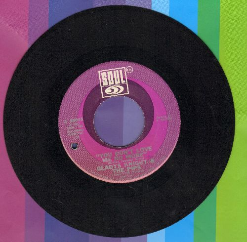 Knight, Gladys & The Pips - You Don't Love Me No More/It Should Have Been Me (bb) - NM9/ - 45 rpm Records