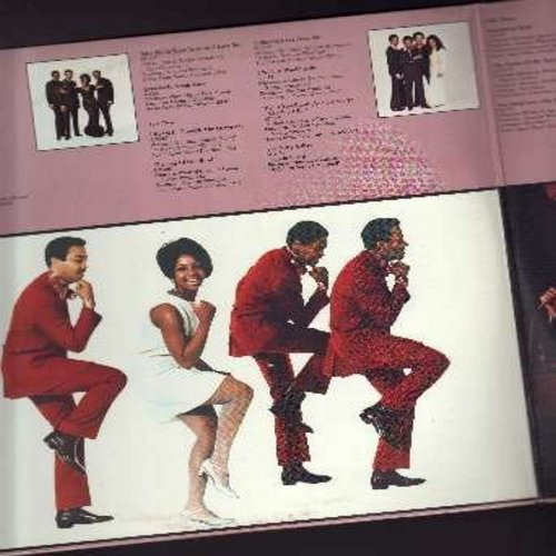 Knight, Gladys & The Pips - Anthology: Every Beat Of My Heart, I Heard It Through The Grapevine, The End Of Our Road, The Nitty Gritty, For Once In My Life, Friendship Train (2 vinyl LP record set, gate-fold cover, NICE condition! Counts as 2 LPs) - EX8/E