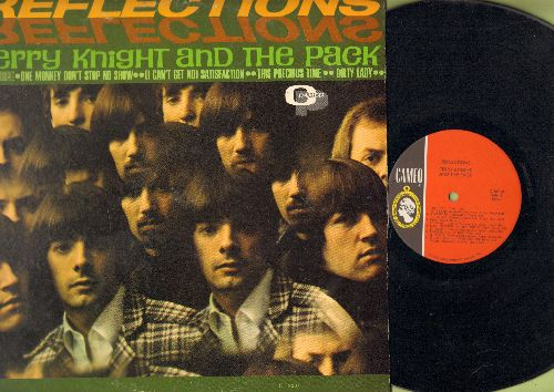 Knight, Terry & The Pack - Reflections: One Monkey Don't Stop No Show, Satisfaction, Come With Me (vinyl MONO LP record) - NM9/EX8 - LP Records