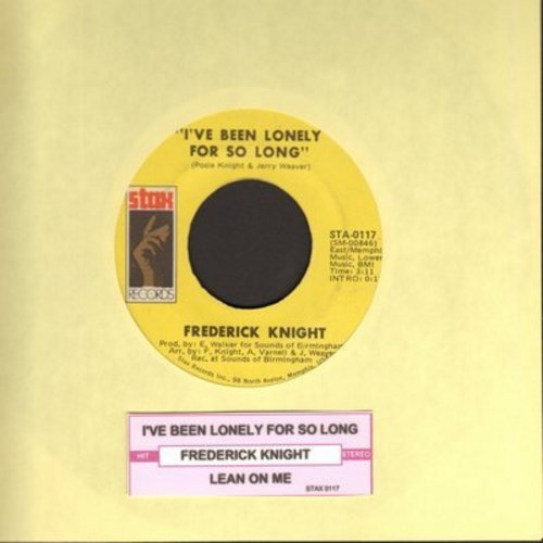 Knight, Frederick - I've Been Lonely For So Long/Lean On Me (with juke box lady) - NM9/ - 45 rpm Records