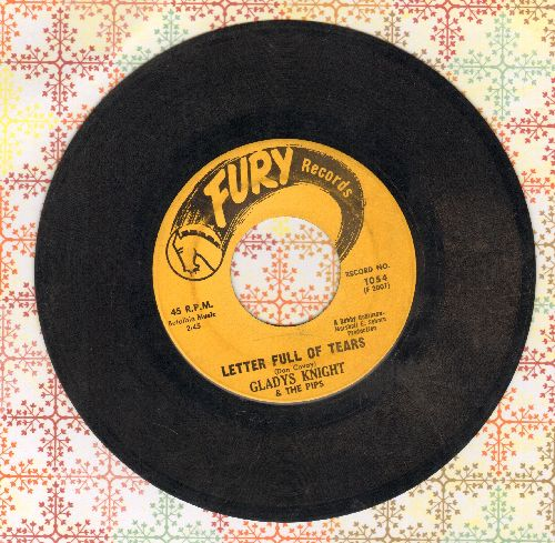 Knight, Gladys & The Pips - Letter Full Of Tears/You Broke Your Promise - VG7/ - 45 rpm Records