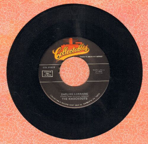 Knockouts - Darling Lorrainne/I've Had It (by The Bell Notes on flip side) (re-issue) - NM9/ - 45 rpm Records