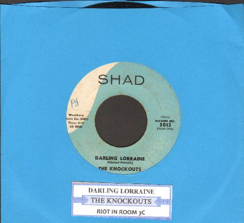 Knockouts - Darling Lorrainne/Riot In Room 3C (first pressing with juke box label) - VG7/ - 45 rpm Records