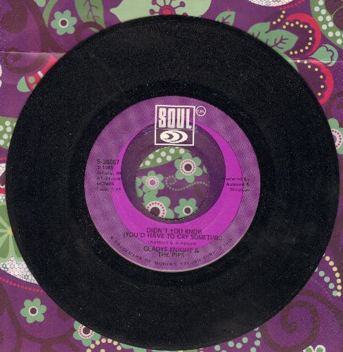 Knight, Gladys & The Pips - Didn't You Know (You'd Have To Cry Sometime)/Keep An Eye - EX8/ - 45 rpm Records