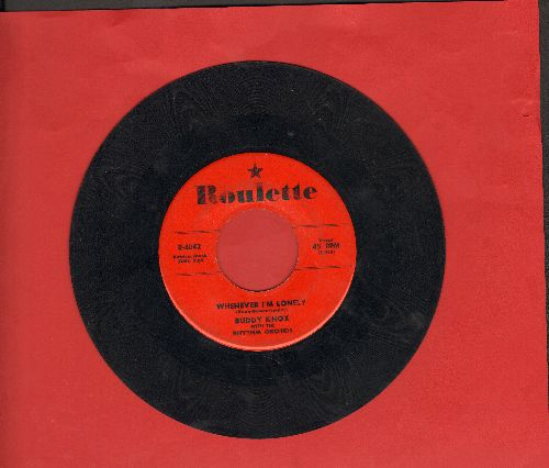 Knox, Buddy - Swingin' Daddy/Whenever I'm Lonely (bb) - VG6/ - 45 rpm Records