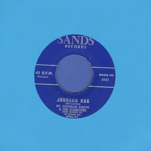 Knuth, Norman & The Starliters - Johnson Rag/Do You Ever Think Of Me - NM9/ - 45 rpm Records