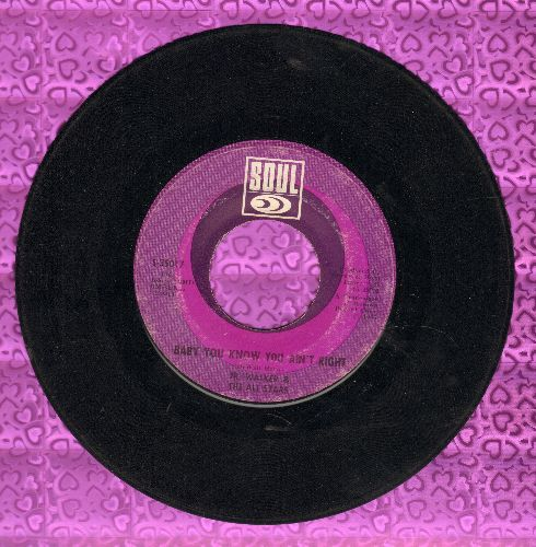 Walker, Jr. & The All Stars - Baby You Know You Ain't Right/Cleo's Mood - VG7/ - 45 rpm Records