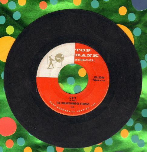 Knightridge Strings - Cry/My Prayer - EX8/ - 45 rpm Records