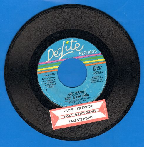 Kool & The Gang - Just Friends/Take My Heart - EX8/ - 45 rpm Records