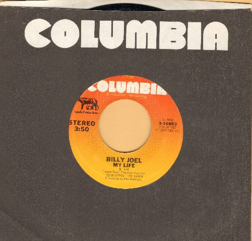 Joel, Billy - My Life/52nd Street (with Columbia company sleeve) - EX8/ - 45 rpm Records