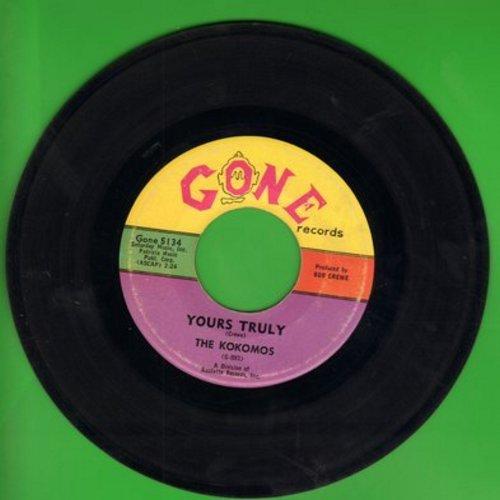 Kokomos - Your Truly/Mama's Boy (wol) - NM9/ - 45 rpm Records