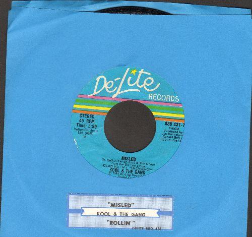Kool & The Gang - Misled/Rollin' (with juke box label) - NM9/ - Maxi Singles