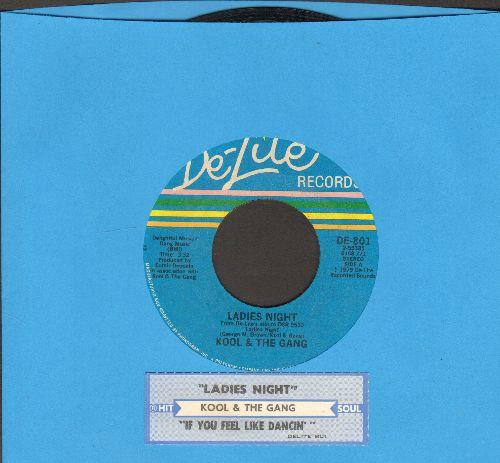 Kool & The Gang - Ladies Night/If You Fel Like Dancin' (with juke box label) - EX8/ - 45 rpm Records