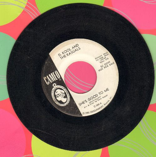 D. Kool & The Kasuals - She's Good To Me/Broken Glass (DJ advance pressing) - VG7/ - 45 rpm Records