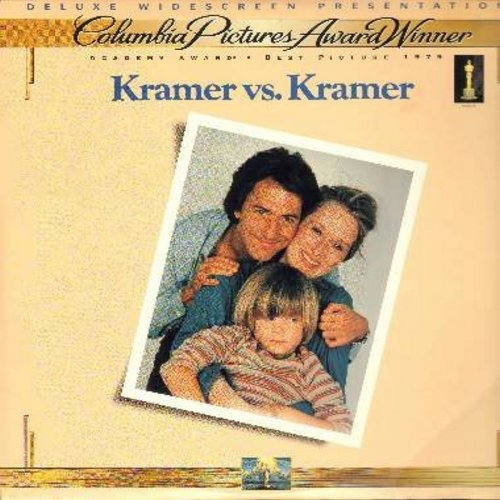 Kramer vs. Kramer - Kramer vs. Kramer - The Best Picture Oscar Winner starring Dustin Hoffman and Meryl Streep - This is a LASER DISC, NOT ANY OTHER KIND OF MEDIA! - NM9/NM9 - Laser Discs