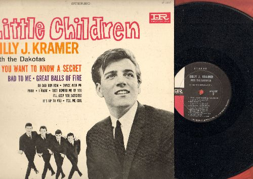 Kramer, Billy J. - Little Children: Do You Want To Know A Secret, Bad To Me, Great Balls Of Fire, Da Doo Ron Ron, I Know (Vinyl STEREO LP record) - VG7/VG7 - LP Records