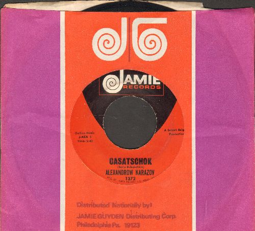 Karazov, Alexandrow - Casaschok/Jacobuska (Traditional Russian Folk Dance)(with RARE Jamie company sleeve) - NM9/ - 45 rpm Records