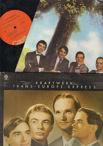 Kraftwerk - Trans-Europe Express: Metal On Metal, Franz Schubert, Showroom Dummies (Vinyl STEREO LP record, with Original inner picture sleeve!) - EX8/EX8 - LP Records