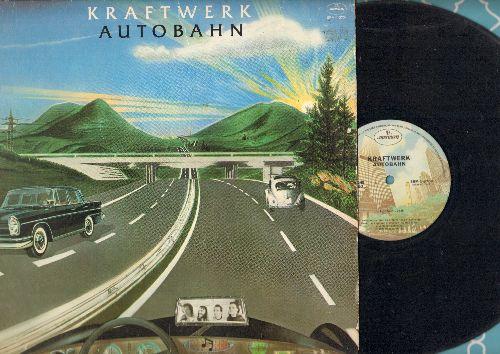 Kraftwerk - Autobahn: Kometenmelodie 1 + 2, Morgensapziergang, Mitternacht, Autobahn (22;30 miutes version) (vinyl STEREO LP record) - VG7/VG7 - LP Records